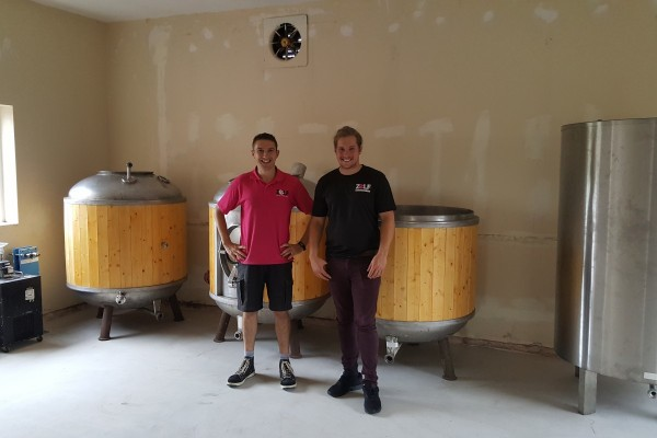 A new micro brewery in town! and we got a taste for it